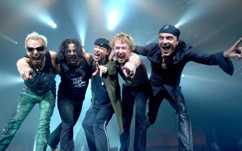 Концерт группы The Scorpions в Нижнем Новгороде