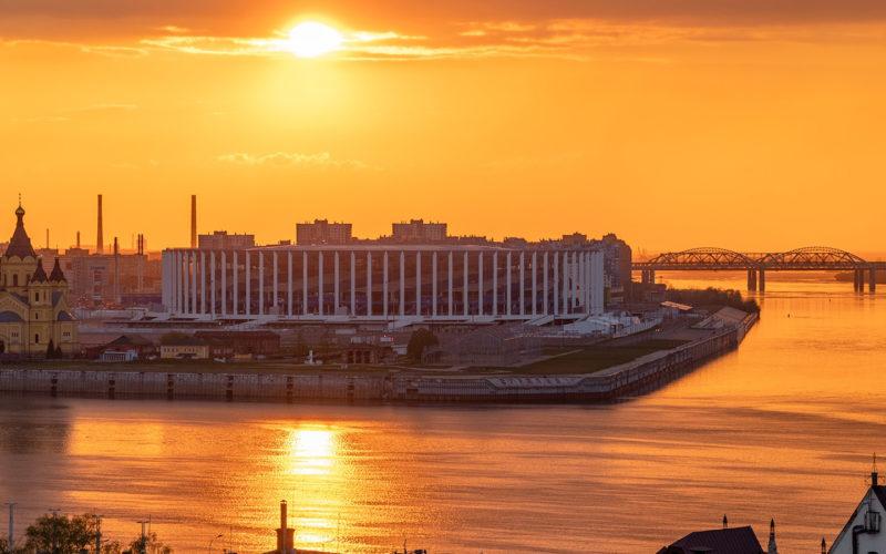 Нижний Новгород – «столица» закатов
